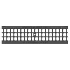 504 Решетка водоприемная Gidrolica Standart РВ-10.13,6.50-ячеистая пластиковая А15,кл
