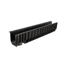 802 Лоток водоотводный Gidrolica Standart ЛВ-10.14,5.18,5-пластиковый