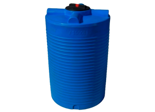 Емкость V1000л Грандпласт вертикальная (в1510/диам960)