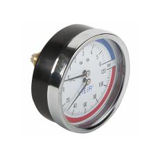 "Термоманометр горизонт.Vieir 6бар(1/2""120гр.)"