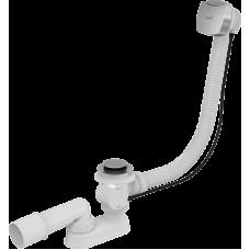Сифон для ванны автомат хром Alca Plast A51CR