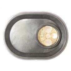 993012 Фланец овальный RCA c прокладкой