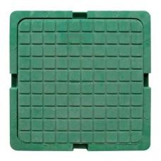 Люк квадр садовый (420*420) зеленый