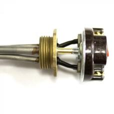 Р20ТП Тен для радиат.с термостатом 2000Вт L450 D33мм прав