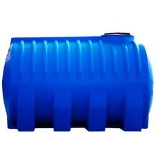 Емкость G2000 л Грандпласт  (д1900*ш1160*в1270) д. г. 400 мм горизонт синяя